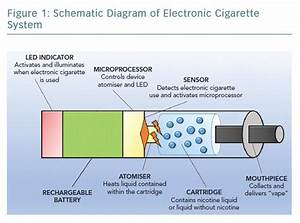 Figure 1  Schematic Diagram Of Electronic Cigarette System