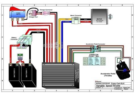 Razor Crazy Cart Dlx Parts Electricscooterparts