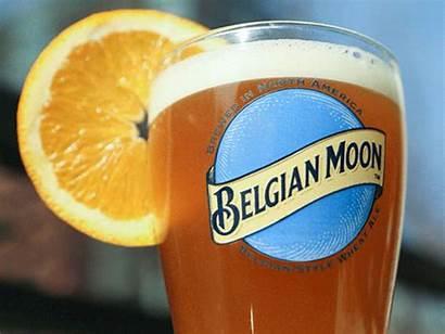 Moon Belgian Hand Dribbble Beer Lettering Icon