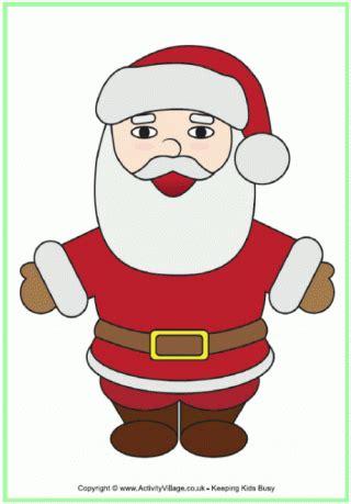 christmas poster father christmas printable