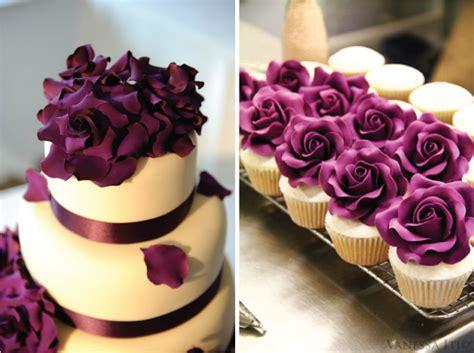 purple wedding cake beautiful bridal purple wedding cupcake ideas