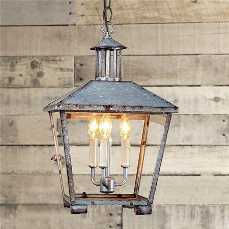 country kitchen chandelier rustic galvanized lantern 3603