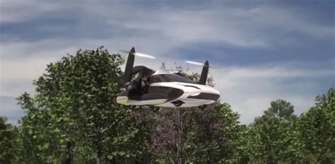Meet The Future The Tfx Flying Car