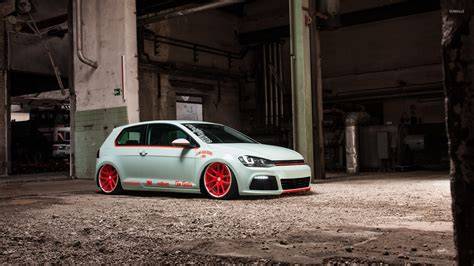 volkswagen car wallpaper volkswagen golf mk7 wallpaper car wallpapers 45731