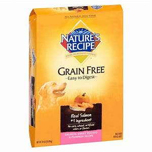 Nature's Recipe Grain Free Salmon, Sweet Potato & Pumpkin
