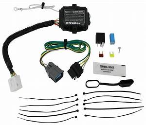 2011 Honda Pilot Hopkins Plug-in Simple Wiring Harness For Factory Tow Package
