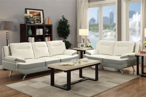 White Sofa And Loveseat by White Leather Sofa And Loveseat Set A Sofa