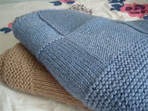 Couverture Bébé Garçon : modele couverture tricot pour lit bebe ~ Teatrodelosmanantiales.com Idées de Décoration
