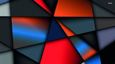 Abstract Geometric Shapes Wallpaper by Geometric Shapes Wallpaper Abstract Wallpapers 35914