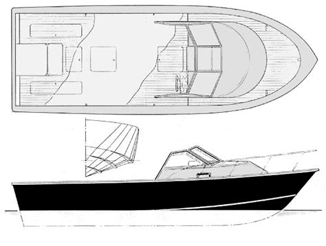 Wooden Cuddy Cabin Boat Plans by Cuddy Sport Trailerable 24 Walk Around Deck Sportfisher