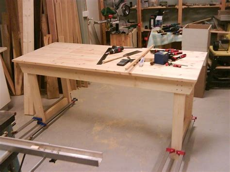 plywood workbench plans plans diy   quick