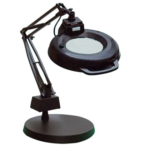 desk magnifying glass with light magnifying desk table cl ls blogbeen