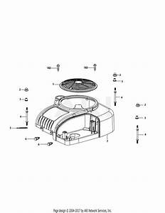 Mtd 4p90hua Engine Parts Diagram For 4p90hua Engine Shroud