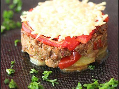 cuisine et plaisir louis recettes de mille feuilles et poivrons