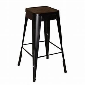 Tabouret 70 Cm : tabouret de bar industriel 70 cm choix d 39 lectrom nager ~ Teatrodelosmanantiales.com Idées de Décoration