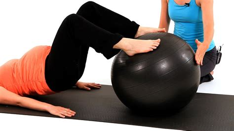 work    exercise ball pregnancy workout
