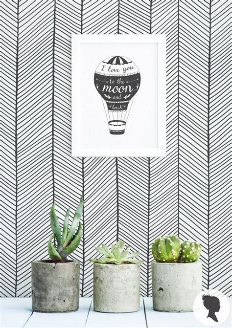 black herringbone removable wallpaper geometric