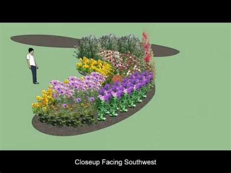my butterfly garden plan using sketchup