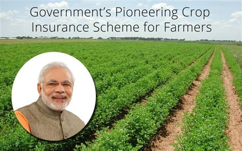 There are quite a few national health insurance schemes available in india nowadays. Government's Pioneering Crop Insurance Scheme for Farmers ...