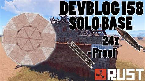 rust base solo building ladder devblog