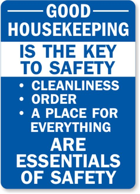 Housekeeping Quotes | Housekeeping Safety Quotes