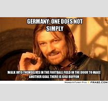 Germany One Does Not Simply One Does Not Simply Meme Generator Captionator