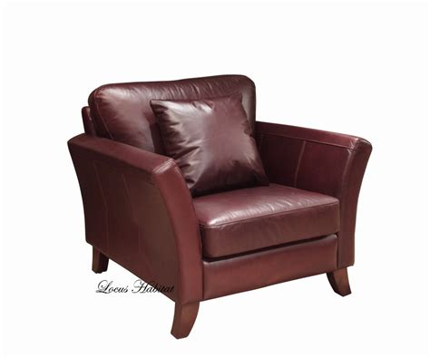 Leather Chair Armchair Singapore