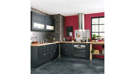 cuisine couleur bordeaux couleur cuisine tendance cuisine 2 couleurs armoires de
