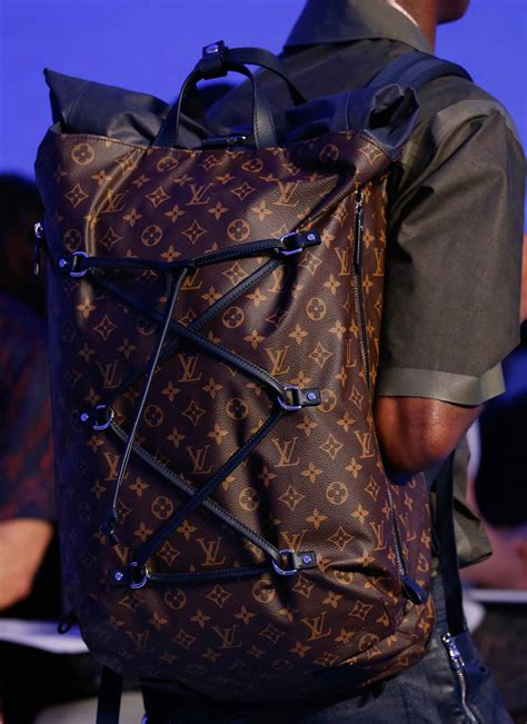 louis vuittons spring  mens show  bucket bags werent   women purseblog