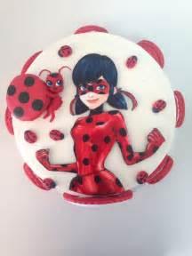 Miraculous Ladybug Birthday Cake and Cat Noir