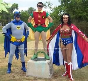 Homemade Womens Superhero Costume images