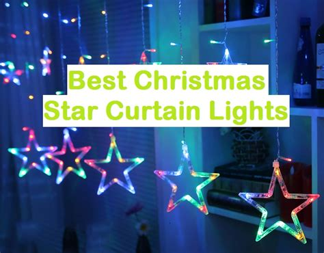 Top 10 Best Christmas Star Curtain Lights Reviews 2018 Easy Install Curtain Rods Shark Tank Custom Made Curtains In Bangalore Thermal Lining Dunelm Mill What Height Do You Hang West Elm Stripe Border Shower Rod Instructions Ismail Johannesburg How High I My