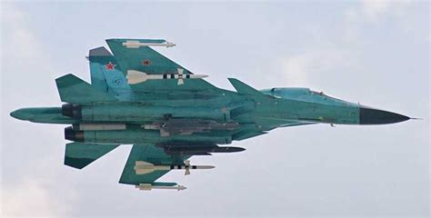 sukhoi design bureau su 34 su 32fn bomber russia