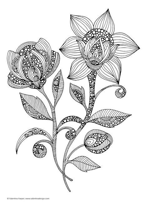 Malen für die Seele Blumen: Art Activity gegen Stress
