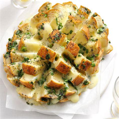 savory party bread recipe taste  home
