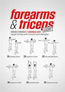 Forearms  U0026 Triceps Workout