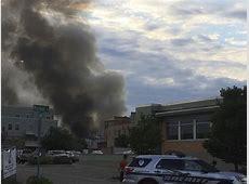 Explosion follows gas main strike in Wisconsin town