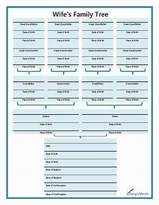 chart printable forms templates samples family tree With family history charts templates