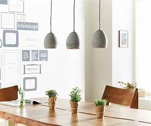 Pendelleuchte 3 Schirme : die besten 25 pendelleuchte beton ideen auf pinterest betonlampe pendelleuchte etsy ~ Whattoseeinmadrid.com Haus und Dekorationen