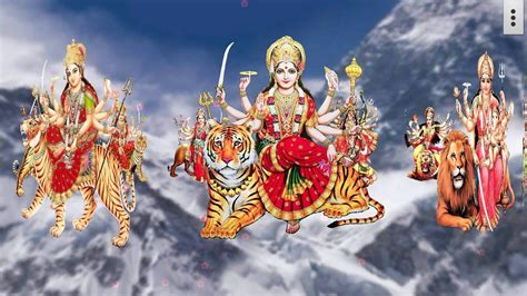 Maa Durga Animated Wallpaper For Desktop - 4d maa durga live wallpaper android apps on play