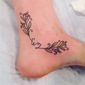 25+ Best Ideas about Honeysuckle Tattoo on Pinterest ...