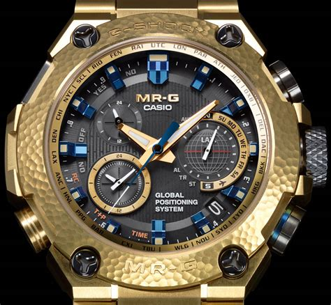 The Casio G Shock Mrgg1000hg 9a Limited Edition Mr G