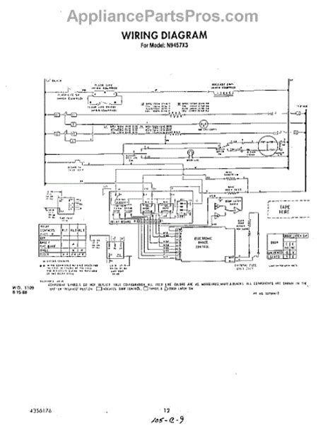 parts for roper n9457l3 wiring diagram parts