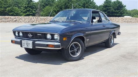 1974 Opel Manta by 1974 Opel Manta Luxus