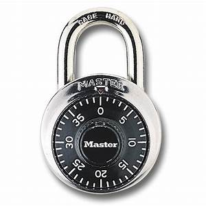 Shop Master Lock 1 875-in Chrome Steel Shackle Combination