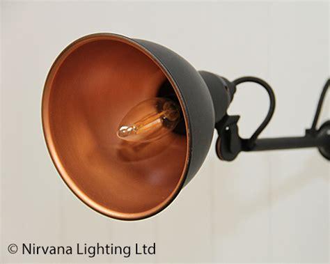 crean black copper wall light nirvana lighting nirvana
