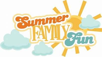 Summer Fun Title Scrapbook Svg Titles Sun