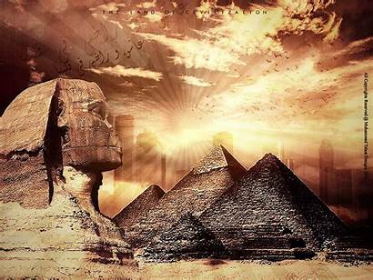 Egypt Egyptian Wallpapers Monuments Civilization Land Ancient