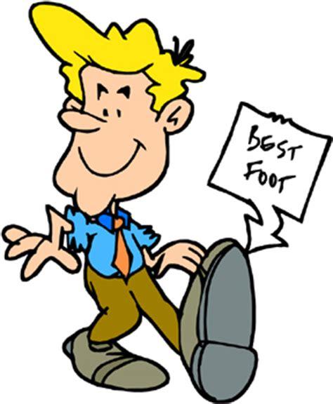 Best Foot Forward Put Your Best Foot Forward