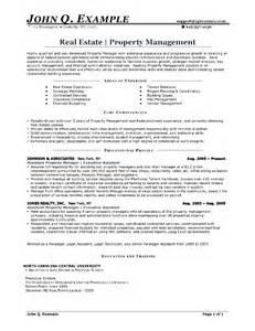 property management resumes free property management resume free sles exles format resume curruculum vitae free